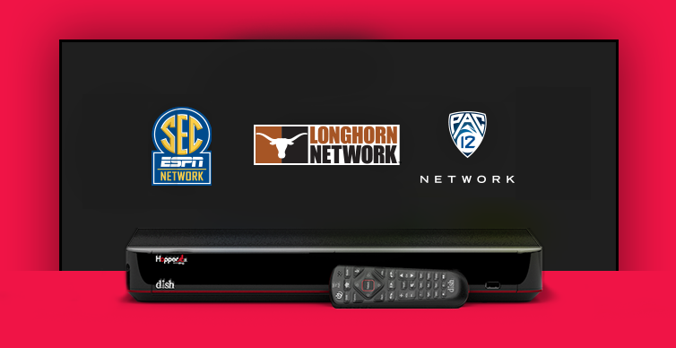 DISH College Sports TV Packages - Anaheim, California - X-Factor Communications - DISH Authorized Retailer